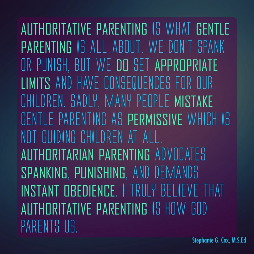 essay authoritative parenting Effect of parenting styles on children's emotional families most scholars focus on authoritarian and authoritative parenting styles in their.